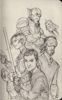 Star Wars Rebels Sketch