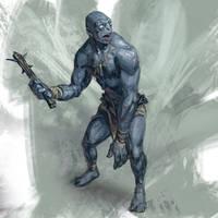 Troll Sketch by Jordy-Knoop