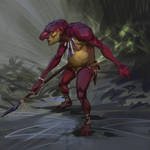 Daily sketch slimy troll