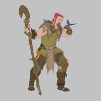 RPG Class Challenge: Druid by Jordy-Knoop