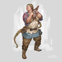 RPG Class day 06: Bard. by Jordy-Knoop