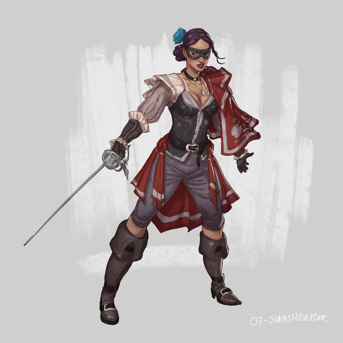 RPG Class day 07: Swashbuckler. by Jordy-Knoop
