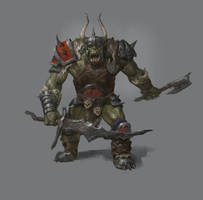 Warhammer Inspired Orc