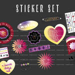 STICKER SET ITZY PNG BY ITSPORCELAIN