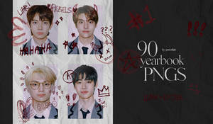 YEARBOOK PNGS PACK BY ITSPORCELAIN