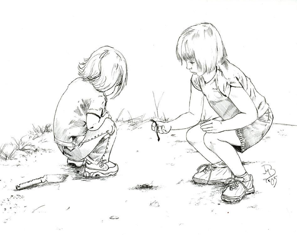 Children Playing By Jeremiah222 On DeviantArt