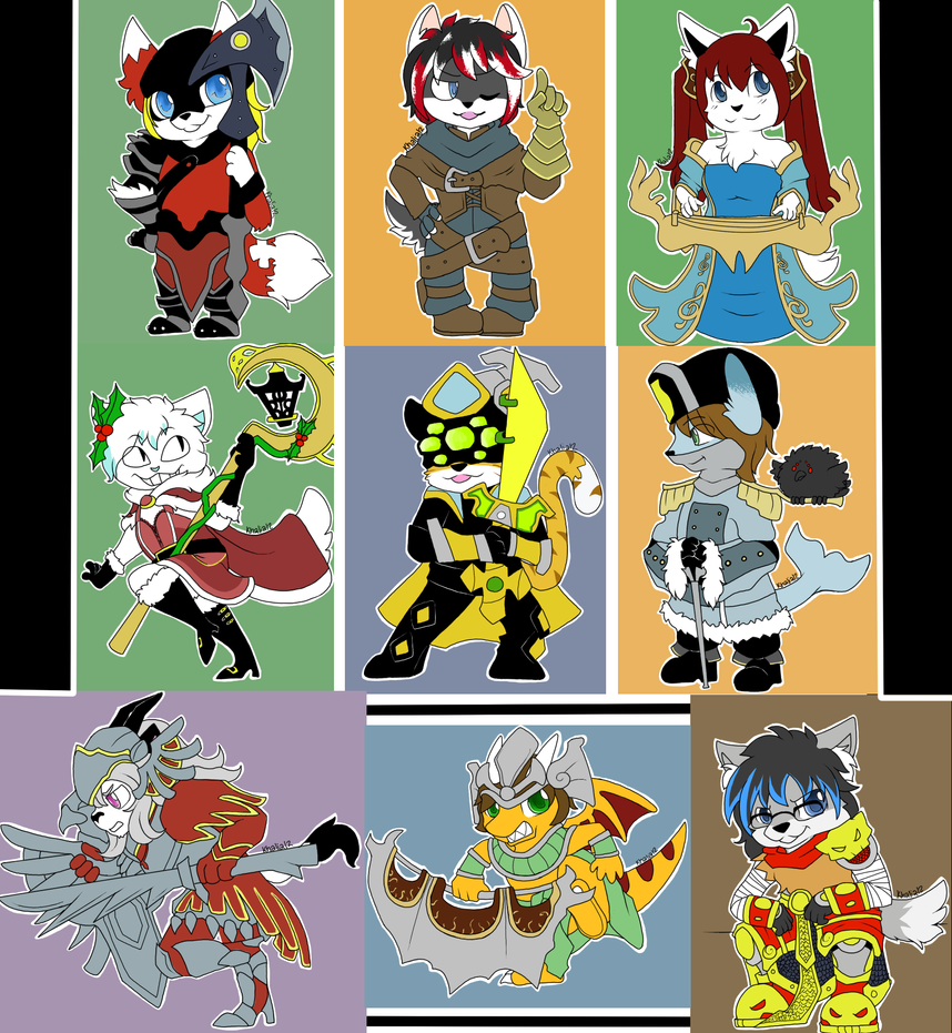 League of Chibis by Khalia1114