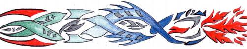 Tribal Design: Viper  by Megane-sempai