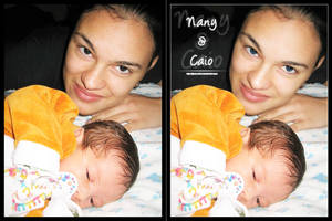 Nany and Caio: Before - After by jaderubini