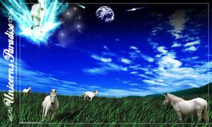 Unicorn's Paradise by jaderubini