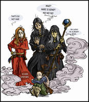 Dragonlance - Mages after the Chaos War by Szacsi