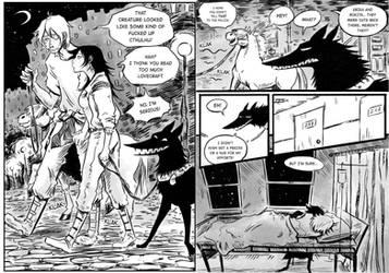 The beast of the salt mine page 105-106 by Szacsi