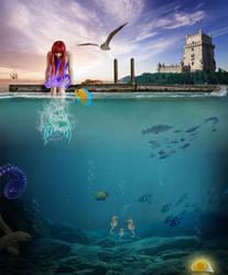 The Little Mermaid Photomanipulation