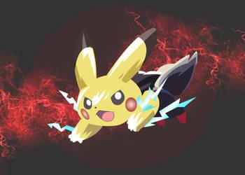 Zorua transforming into Pikachu