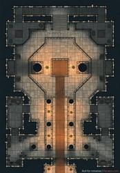 Temple Battlemap