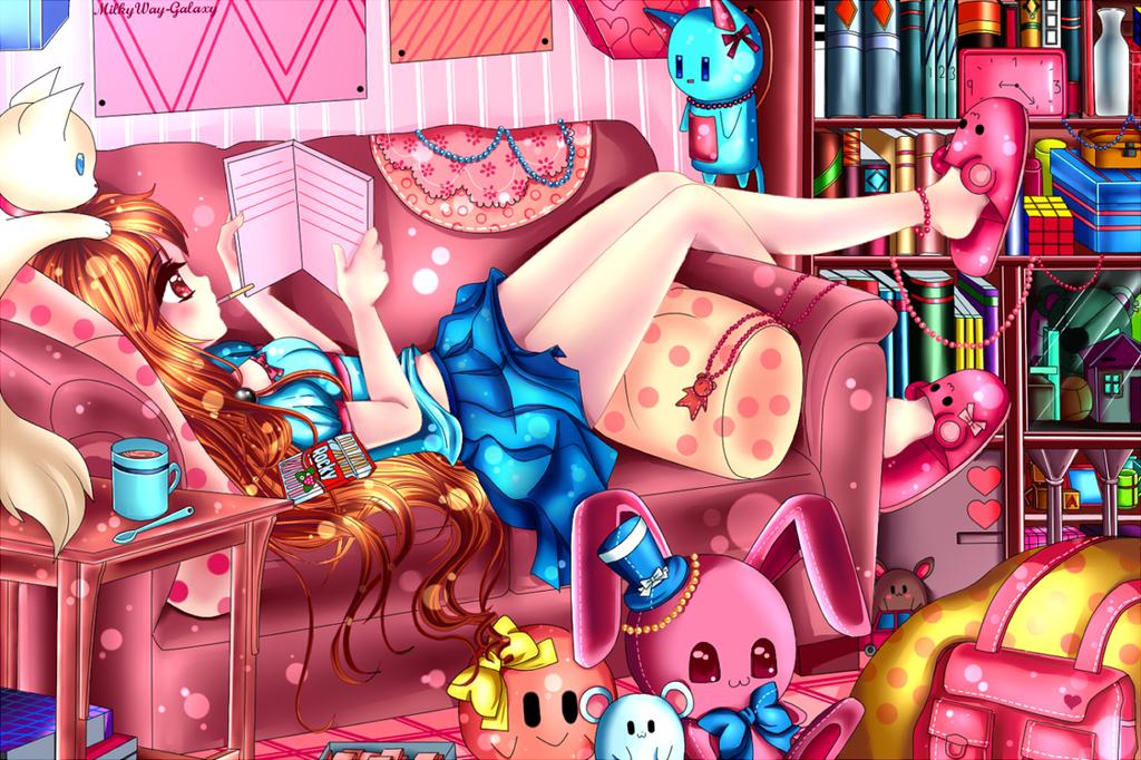 OC : Alice.. by MilkyWay-Galaxy