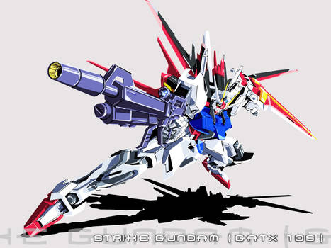 Strike Gundam GATX-105
