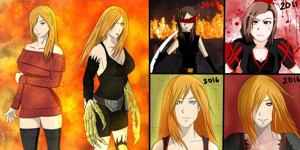 Jane Drake - Design Evolution by the-silentassassinAP