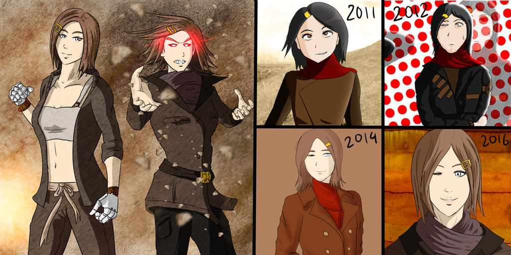 Bobbi Braun - Design Evolution by the-silentassassinAP