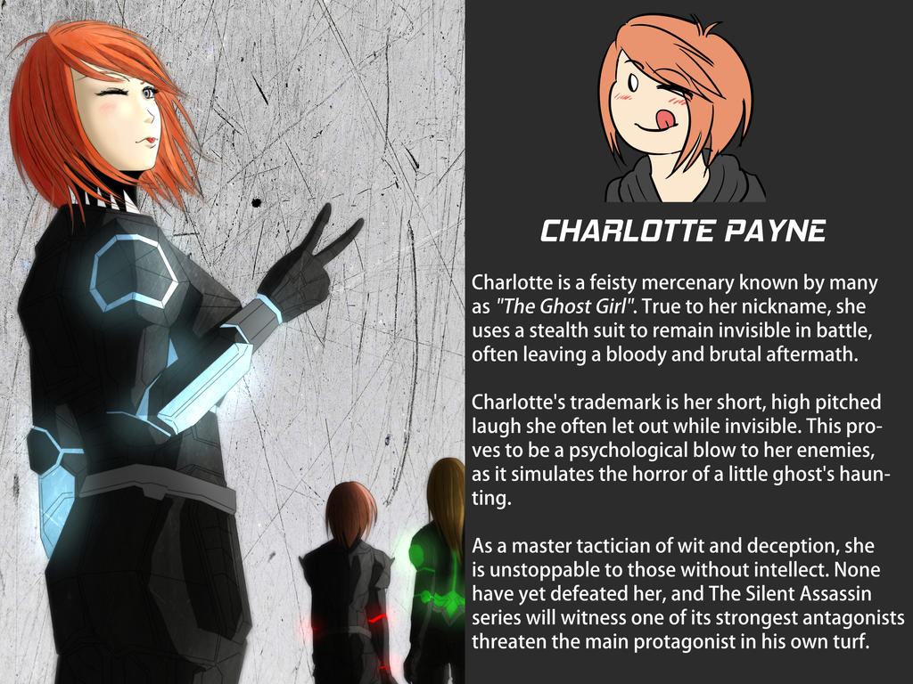 Charlotte and Petit Fantome by the-silentassassinAP