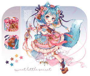 Adoptable Auction [CLOSED] -Sweet little Secret -