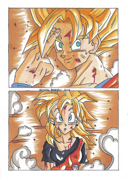 What are you doing, Goku?
