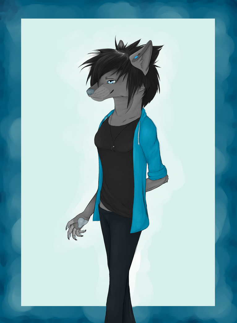 Anthro Jay by WolvenRach