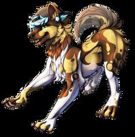 PC Wild wild dog by CaptainRey