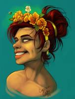 Flower Girl by CaptainRey