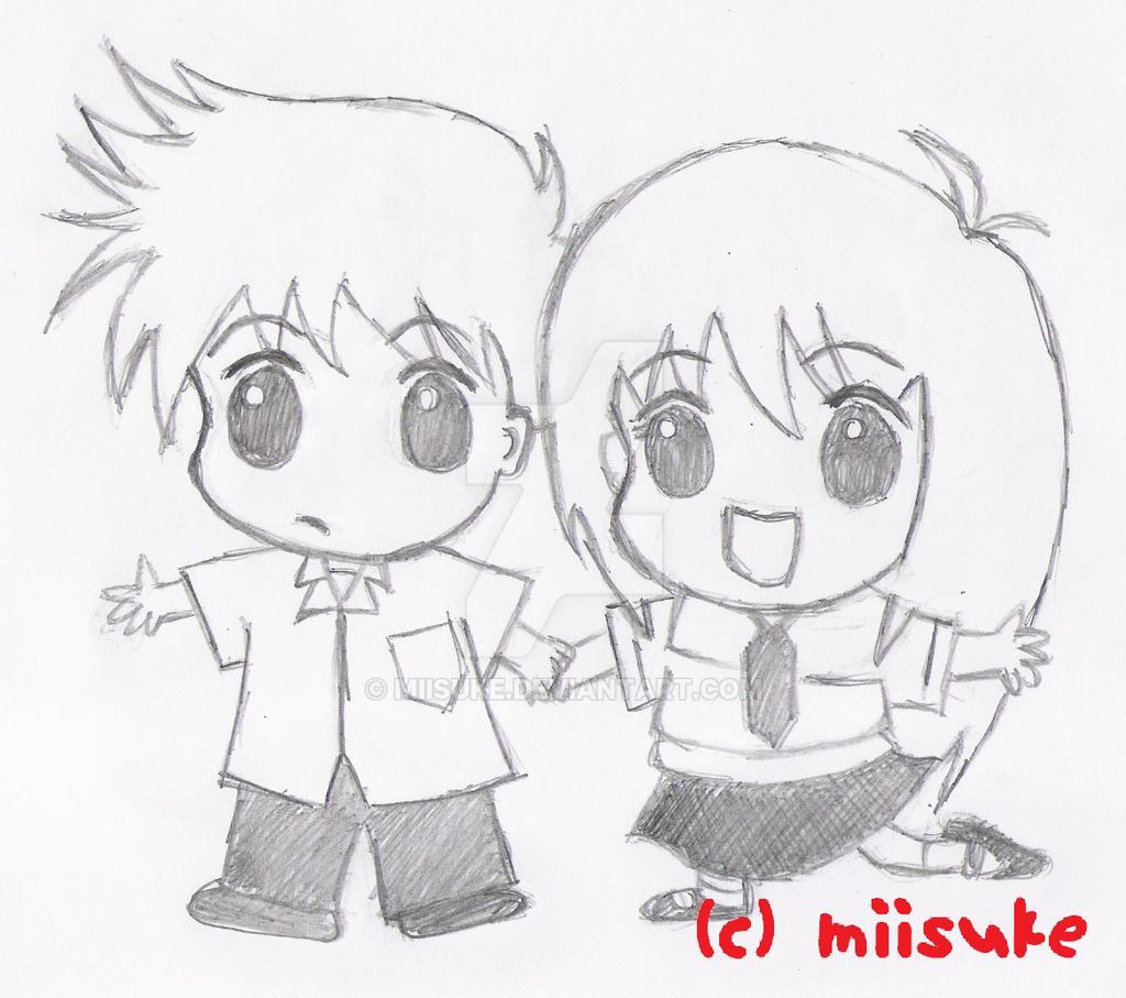 Chibi Boy And Girl By Miisuke On DeviantArt