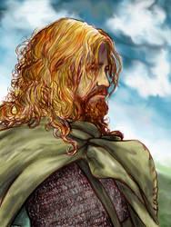 Viking Warrior - Severeene by Shadow-of-Yggdrasil