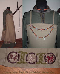 Viking Apron dress Braveanimal by Shadow-of-Yggdrasil