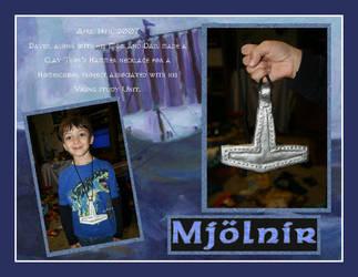 Mjolnir David - AriannaSage by Shadow-of-Yggdrasil