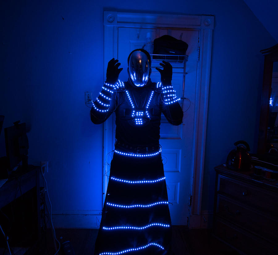 LED Light Costume by IV47E