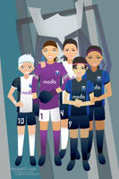 Seattle Reign 2014 Poster by hercircumstance