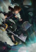 Kingdom Hearts by yeinART