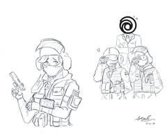 Rainbow six siege fan art by StanChen18