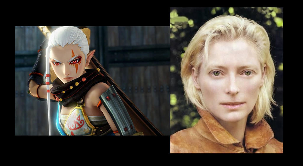 Zelda Dream-Cast: Impa/Tilda Swinton by Th3-M4ster on DeviantArt