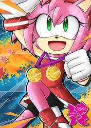 Amy Olympic Games by SandraGH