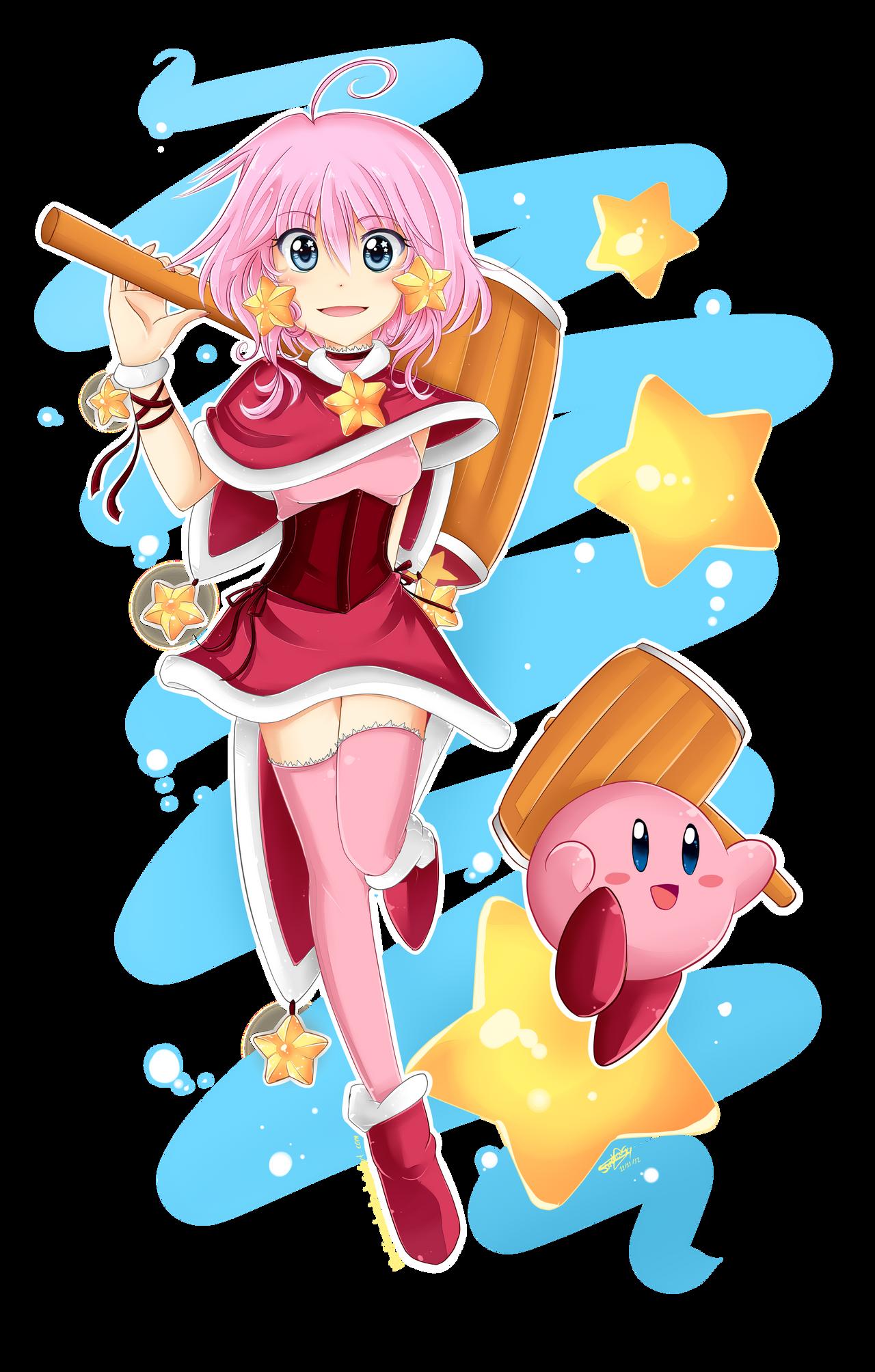 Kirby Human by SandraGH on DeviantArt