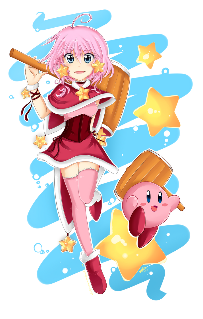 Kirby human by sandragh on deviantart kirby human by sandragh voltagebd Image collections
