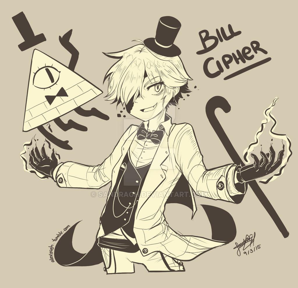 Bill Cipher (Human Version)