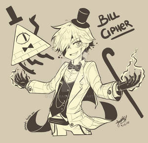 Bill Cipher (Human Version)