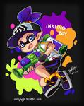 Splatoon - Inkling boy