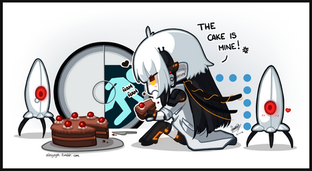 The cake is not a lie