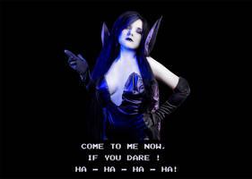 The dark queen from Battletoadas Cosplay
