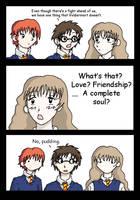 Pudding - Harry Potter by PunkRyuki