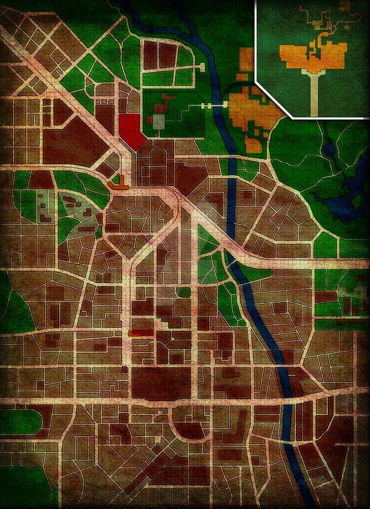 Google Maps Raccoon City