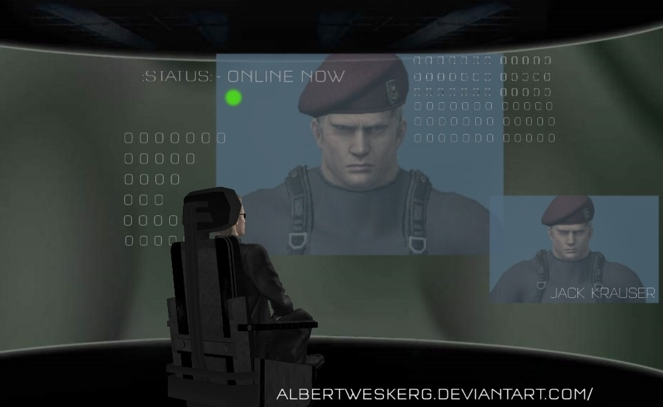 Reporting To Wesker (2002) by AlbertWeskerG