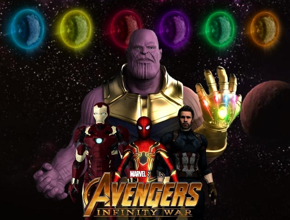 Avengers: infinity War by AlbertWeskerG